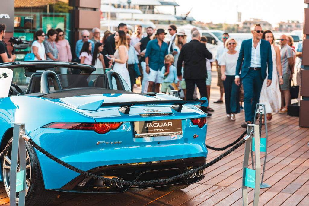 inaugurazione Jaguar Land Rover Summer Lounge
