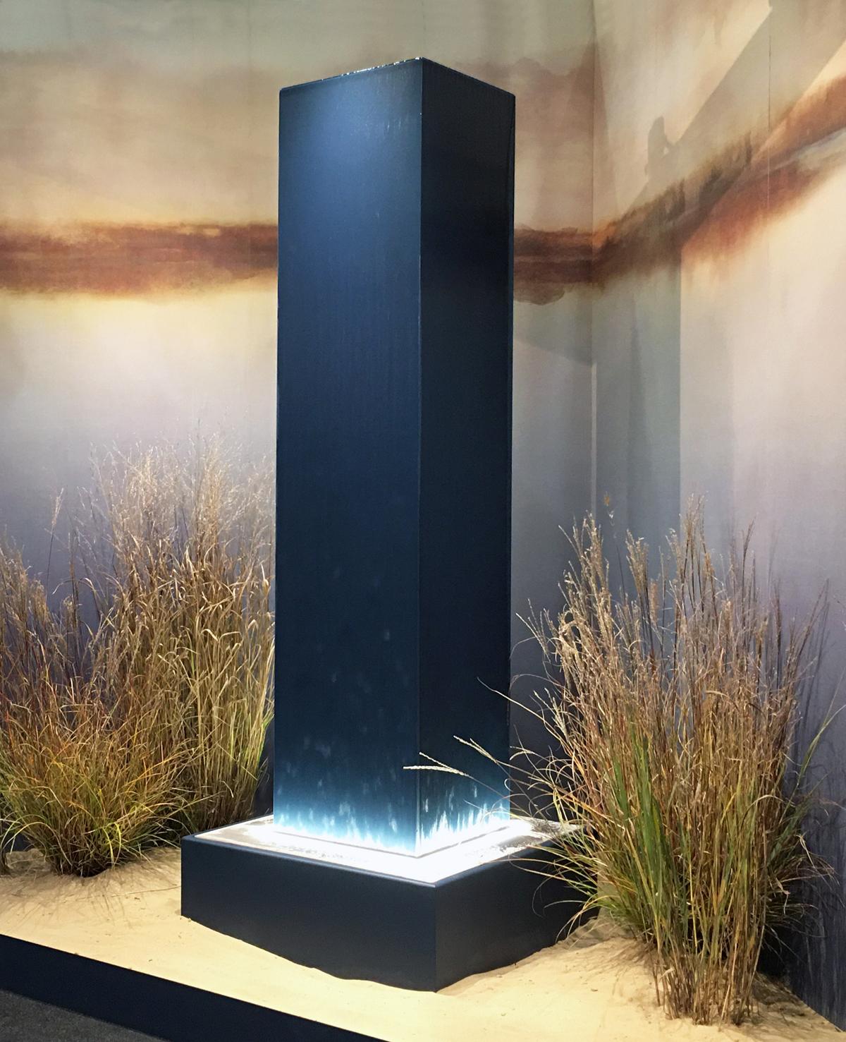 fontana Colonna Linea Solidi d'Acqua FavrinDesign per Forme d'Acqua Venice Fountain