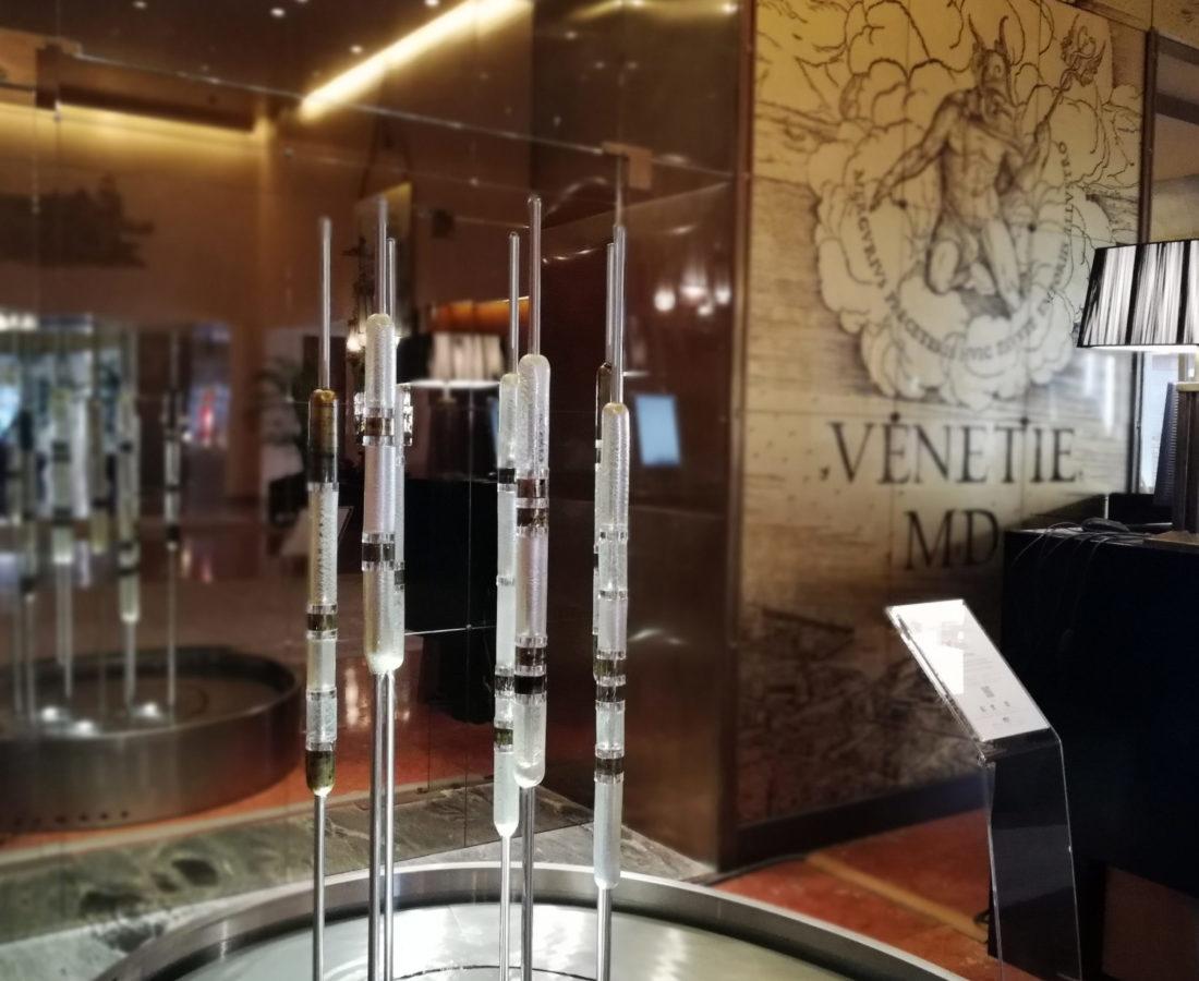 fontana Rhythmus H2O al Bauer Hotel Venezia